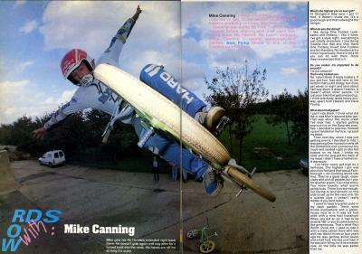 Mike Canning R.a.D Issue 58
