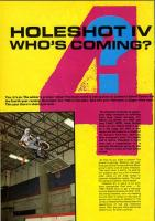 Holeshot Preview 1987 Rad Magazine