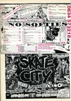No Softies and Skate City Advert 1987