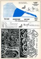 Surrey Skateboards, R.I.P Skateboards and SPK Action Ramps Adverts from 1987