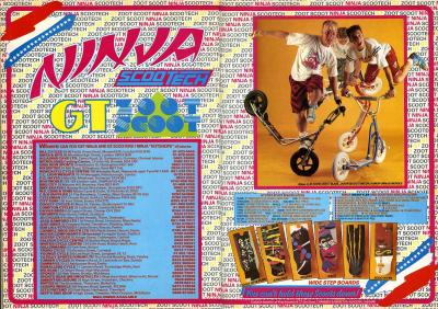 Ninja Scootech Advert 1987