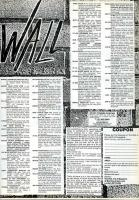 The Wall: Reader's Classified Adverts from Issue 58 of R.a.D Magazine