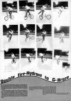 BMX How-to Double Fire-hydrant to G-Kruze
