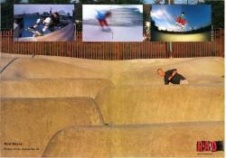 Rodga Harvey Rom Skatepark Snake Run September 1989