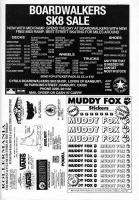 Boardwalkers, Rollermania and Mudd Fox Adverts