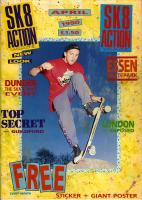 SK8 Action Cover April 1990